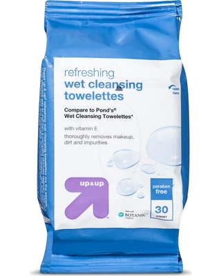 Makeup Remover Cleansing Towelettes - 30ct - Up&Up