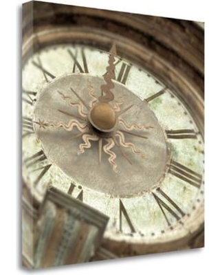 """Tangletown Fine Art 'il Grande Orologio - 1 Color' Photographic Print on Wrapped Canvas ICABIT1077B-2020c Size: 20"""" H x 20"""" W"""
