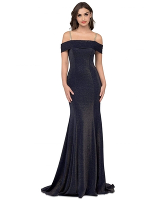 Cecilia Couture - 1501 Off-Shoulder Trumpet Gown With Train