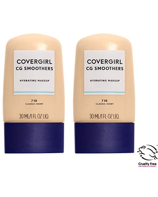 COVERGIRL COVERGIRL smoothers all day hydrating foundation, classic tan, pack of 2, 1 Ounce