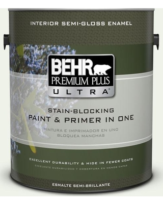 Amazing Deal On Behr Ultra 1 Gal M370 1 Fresh Dew Extra Durable Semi Gloss Enamel Interior Paint And Primer In One