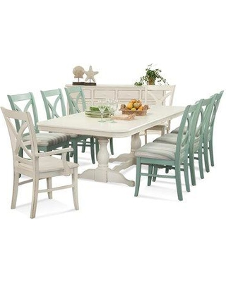Braxton Culler Hues Dining Table 1064 E76/ Color: Blueberry