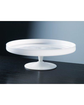 Don T Miss Deals On Charlton Home Deyoung Cake Stand Glass In White Size 4 H X 12 W X 12 D Wayfair 6e88f3b08e494f3f98ceac71374a6991