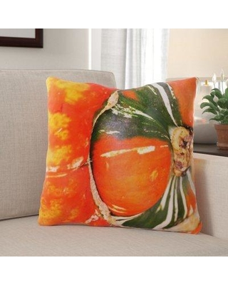 The Holiday Aisle Heimbach Gourd Indoor/Outdoor Throw Pillow W001253494