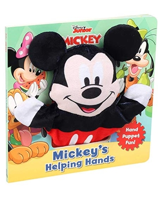 Disney Mickey Mouse Clubhouse: Mickey's Helping Hands (Book with Hand Puppet)