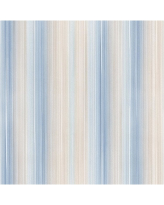 Norwall Ombre Stripe Wallpaper, Pearl/ Light Blue/ Light Taupe