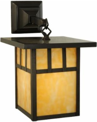 Meyda Lighting Hyde Park Double Bar Mission 13 Inch Wall Sconce - 139338
