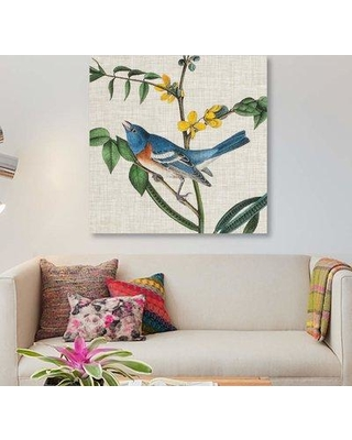 """East Urban Home 'Avian Crop VIII' Graphic Art Print on Canvas EBHS5581 Size: 12"""" H x 12"""" W x 1.5""""D"""