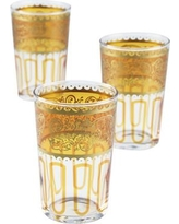 Casablanca Market Moroccan Essaouira Glasses TTC0001 Finish: Orange / Gold