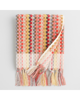 Finlay Dot Sculpted Hand Towel: Multi - Cotton by World Market