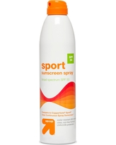 Continuous Sunscreen Mist Spray - Spf 50 - 10oz - Up&Up (Compare to Coppertone Sport Spf 50 Clear Continuous Spray Sunscreen)