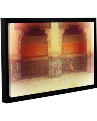 """Bloomsbury Market 'Palace Walk' Framed Photographic Print BLMT3868 Size: 8"""" H x 12"""" W x 2"""" D"""