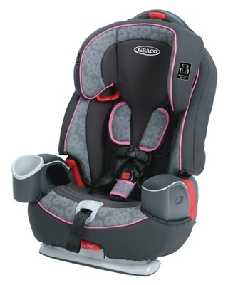Graco Nautilus 65 3-in-1 Harness Booster Car Seat, Sylvia Pink/Gray