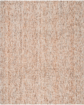 Beige/Rust (Beige/Red) Abstract Tufted Area Rug - (8'X10') - Safavieh