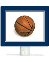 Oopsy Daisy Non-Personalized Sports and Games Basketball Canvas Night Light NB59987