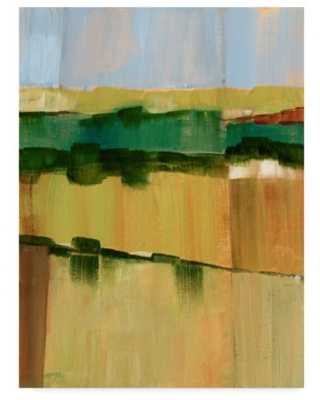 Trademark Fine Art 'Pasture Abstract I' Canvas Art by Ethan Harper