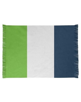 East Urban Home Seattle Football Green/Blue Area Rug FCJK0503 Backing: Yes