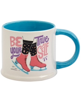 Queer Eye 17oz Stoneware Be Your True Self Mug