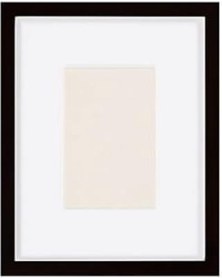 Wood Gallery Single Opening Frame - 5x7 (11x13 overall) - Black