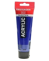 Amsterdam Standard Series Acrylic Paint, Phthalo Blue, 120ml, 3/Pack (79454-PK3)