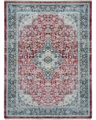 Bungalow Rose Hackleburg Oriental Red Area Rug CHMT5317 Rug Size: Rectangle 10' x 13'