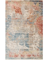Deals For Mcclanahan Petal Blue Area Rug Charlton Home Rug Size Oval 2 X 5