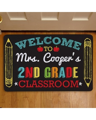 Personalized Welcome to My Class Doormat