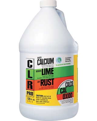CLR Professional Cleaners, All-Purpose Cleaner, 1-Gallon Bottle, 4 Bottles/Carton, Lime   Quill