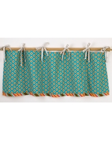 Cotton Tale Gypsy Curtain Valance - Turquoise (Turquoise)