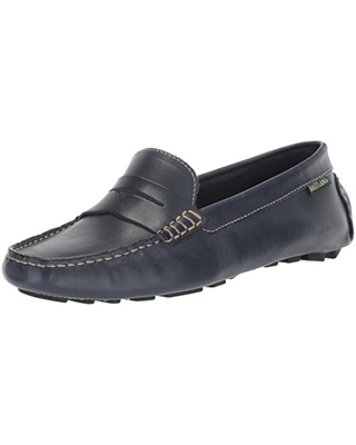 Eastland Women's Patricia Loafer, Navy, 9.5 M