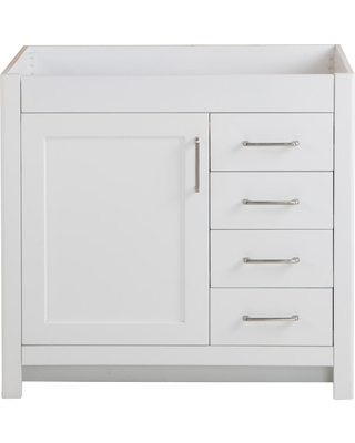 Hot Sale: Home Decorators Collection Westcourt 36 In. W X 21.69 In. D X  34.25 In. H Bath Vanity Cabinet Only In White