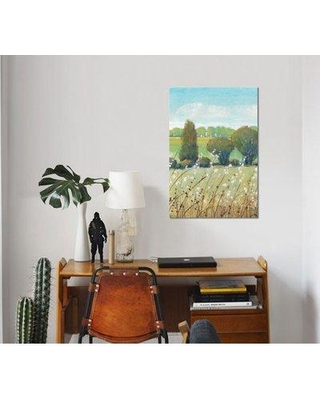 """East Urban Home 'Summer Breeze I' Watercolor Painting Print on Wrapped Canvas ESUH7736 Size: 40"""" H x 26"""" W x 1.5"""" D"""
