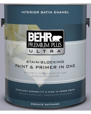 BEHR Premium Plus Ultra 1 gal. #T12-3 Canyon Sunset Satin Enamel Interior Paint and Primer in One