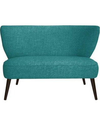 George Oliver Cifuentes Armless Loveseat GOLV4857 Color: Zuma Peacock