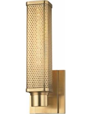 Hudson Valley Lighting Gibbs 12 Inch Wall Sconce - 7031-AGB