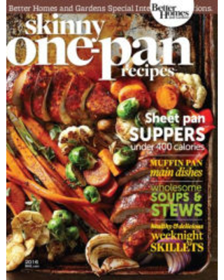 Skinny One-Pan Recipes 2016 Meredith Corporation Author