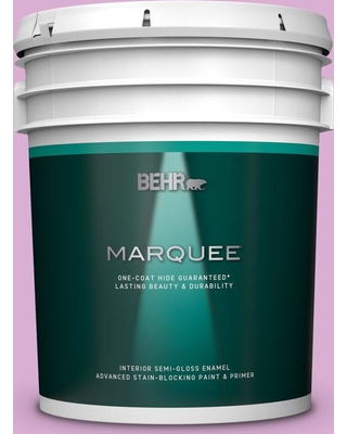 BEHR MARQUEE 5 gal. #P110-3 BFF Semi-Gloss Enamel Interior Paint and Primer in One