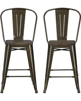 Pleasing Spectacular Deals On 23 5 Luxor Metal Counter Stool With Ocoug Best Dining Table And Chair Ideas Images Ocougorg