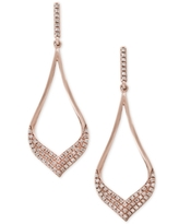 Pave Rose by Effy Diamond Drop Earrings (1/3 ct. t.w.) in 14k Rose Gold