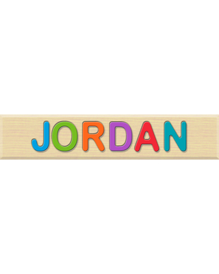 Personalized Name Puzzle - JORDAN - Early Learning Toys for Babies - Fat Brain Toys