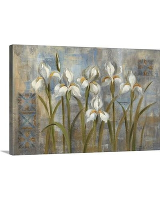 """Canvas On Demand 'Early Spring I' by Silvia Vassileva Painting Print on Canvas 1051697_24 Size: 16"""" H x 24"""" W x 1.25"""" D"""
