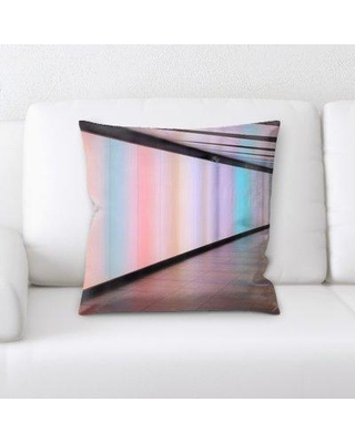 East Urban Home Sharp Colors Throw Pillow BF123953