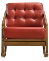 Wells Rocker Chair Red - Picket House Furnishings