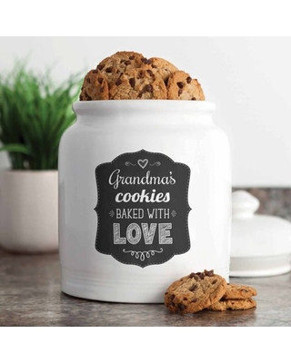 Personalized Cookies Baked with Love Treat Jar