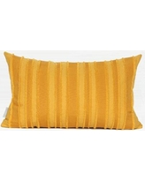 Winston Porter Elysee Tassel Stripe Textured Pillow WNSP6600 Fill Material: Down Feather, Product Type: Throw Pillow