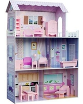 Teamson Kids Fancy Mansion Doll House KYD-10922A