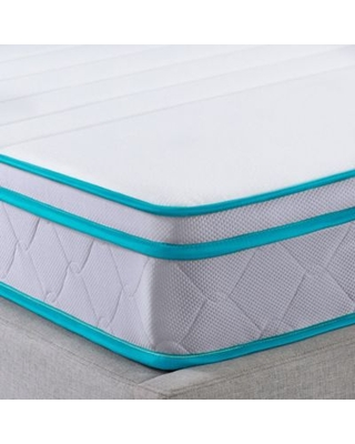 Linenspa Signature Collection 8 Inch Alwayscool Memory Foam Hybrid Full Mattress White