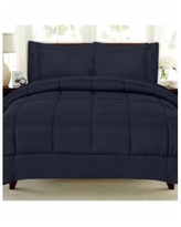 Sweet Home Collection Down Alternative 7-Pc. King Comforter Set - Navy