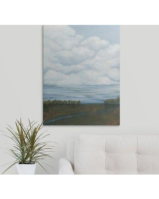 "Great Big Canvas 'Billow I' Grace Popp Painting Print 2330719_1_ Size: 48"" H x 36"" W x 1.5"" D Format: Canvas"