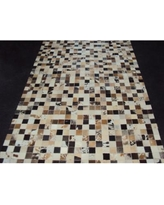 Modern Rugs Patchwork Static III Multi-colored Area Rug patchw5-88 Rug Size: Rectangle 4' x 6'